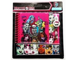Set Agenda monstruasa si pix, firma Monster High